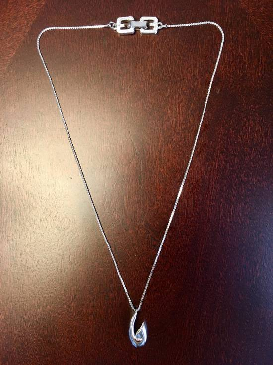 "Givenchy 1981 Silver ""G"" Necklace Size ONE SIZE - 1"