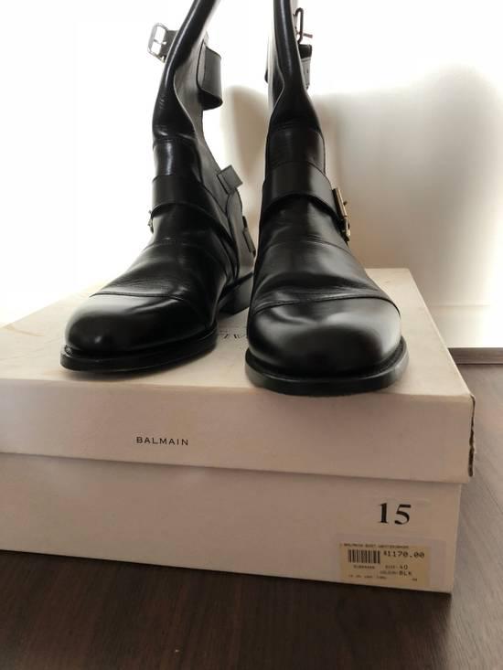 Balmain Balmain Boots Black Size US 7 / EU 40 - 4