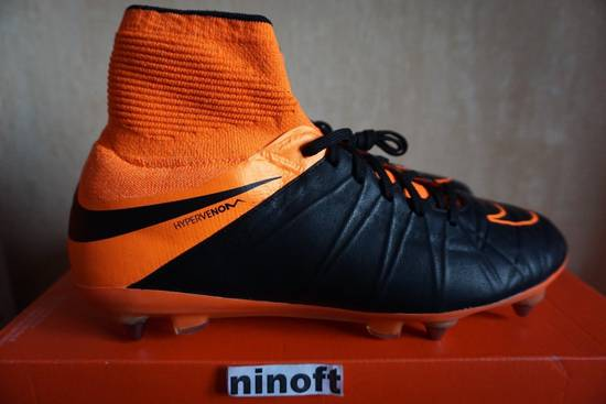 super popular 2631c c5d40 Nike Hypervenom Phantom 2 Leather SG-PRO 747500-008 black orange
