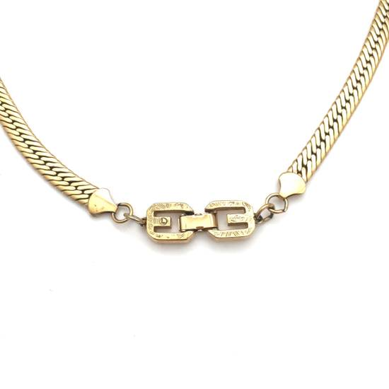 """Givenchy 18.25"""" Gold Chain Necklace Size ONE SIZE - 6"""