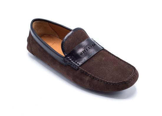 Givenchy Givenchy Men's Dark Brown Black Suede Loafers Slip Ons Size US 8 / EU 41