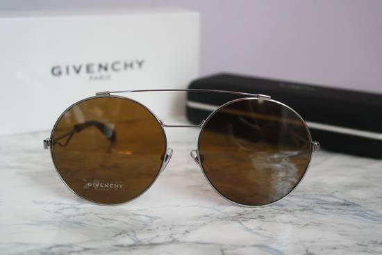 Givenchy NEW Givenchy 7048/S Oversized Round Aviator Sunglasses in Pale Gold/Brown Size ONE SIZE - 2