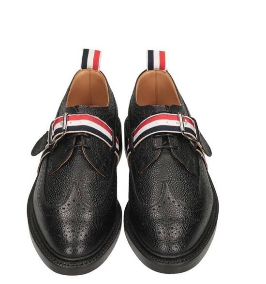 Thom Browne Brand New Thom Browne Classic Stripe Leather Lace up Size US 6 / EU 39 - 2