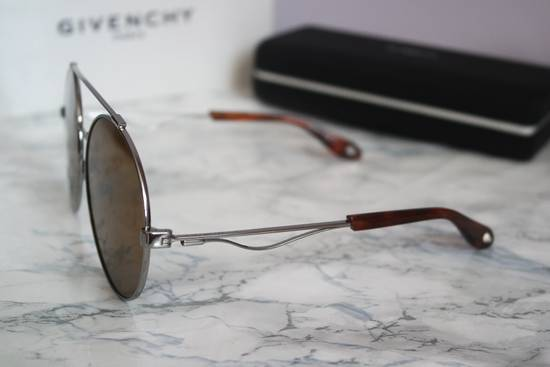 Givenchy NEW Givenchy 7048/S Oversized Round Aviator Sunglasses in Pale Gold/Brown Size ONE SIZE - 7