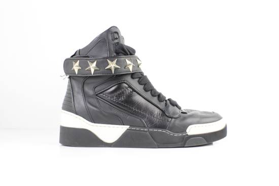 Givenchy Givenchy Black Leather High Tops Size 41 Size US 8 / EU 41 - 2