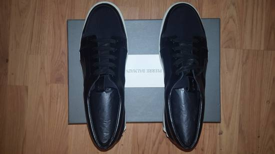 Balmain Low-Top Leather Sneakers Size US 12 / EU 45 - 7