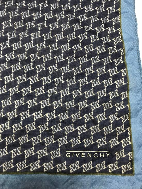 Givenchy Handky Bandana Givenchy Small Logo Full print Navy Blue Size ONE SIZE