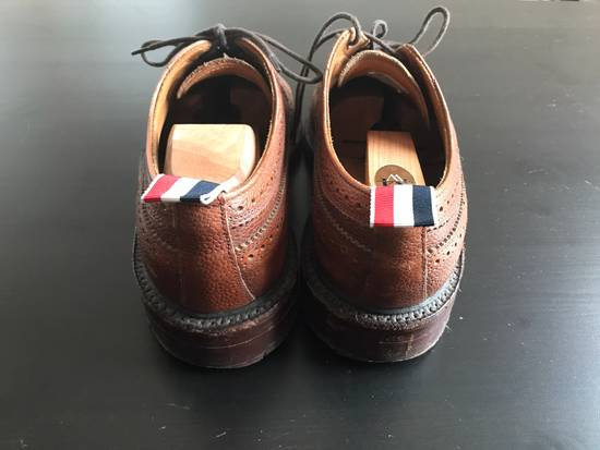 Thom Browne Classic Long Leather Wingtips(Brown) Size US 9 / EU 42 - 2