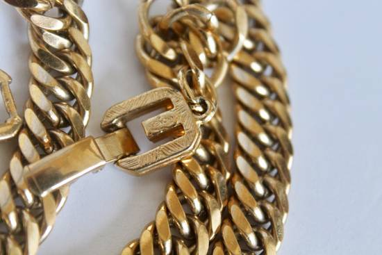 Givenchy Gold Plated Curb-Link Chain Size ONE SIZE - 2