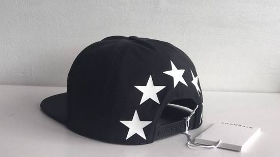 Givenchy star print cotton baseball hat black Size ONE SIZE