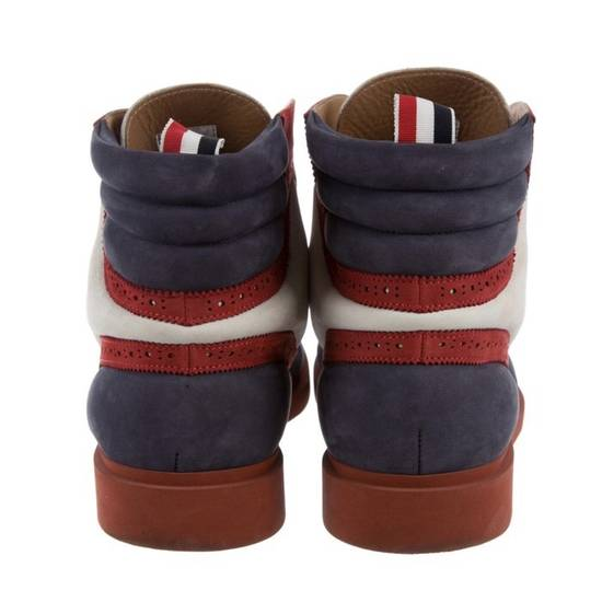 Thom Browne Tricolors Boots Nubuck Leather Size US 7 / EU 40 - 1
