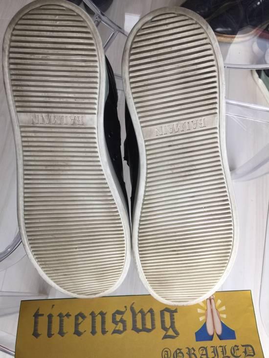 Balmain Balmain High Top Leather Sneakers Size US 11 / EU 44 - 2