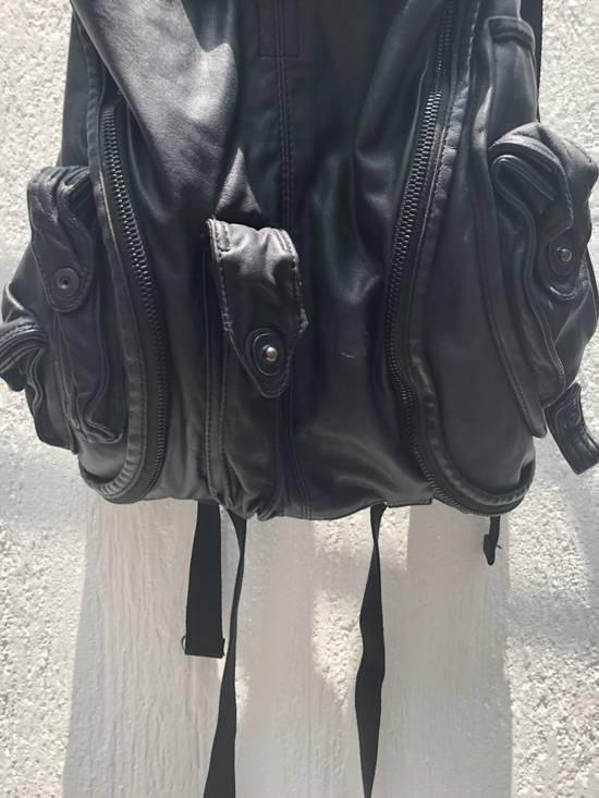 Julius Gas mask Goat leather cargo backpack Size ONE SIZE - 2