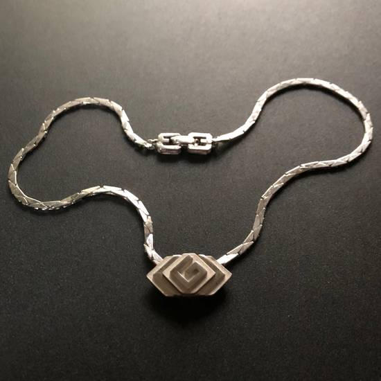 "Givenchy Silver ""G"" Necklace Size ONE SIZE - 3"
