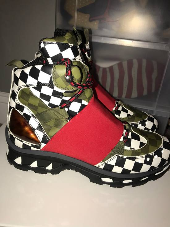 Givenchy Givenchy Show Trainer Shoe, MultiColored / Checkered, Size 43 Size US 10 / EU 43 - 4