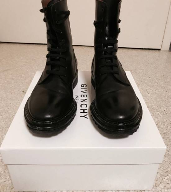 Givenchy Vulcano Lace Up Boots Archive 2001 Size US 8 / EU 41 - 2