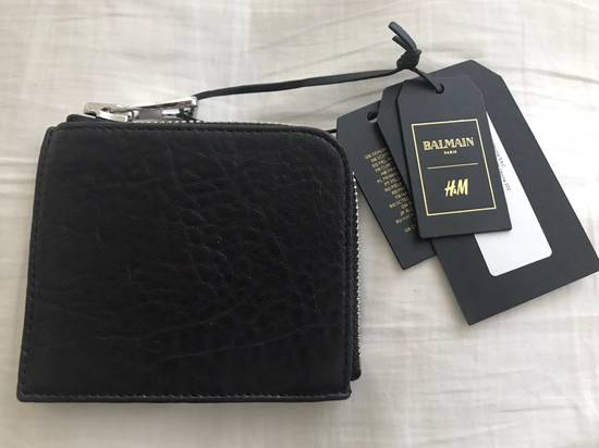 Balmain Leather Wallet Size ONE SIZE