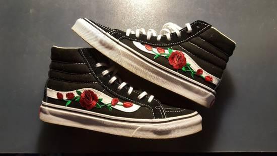 Vans Custom Embroidered Rose Vans Size US 10 / EU 43 - 6