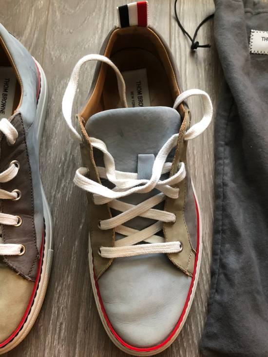 Thom Browne Multi Color Calf Leather Sneaker Size US 8 / EU 41 - 8