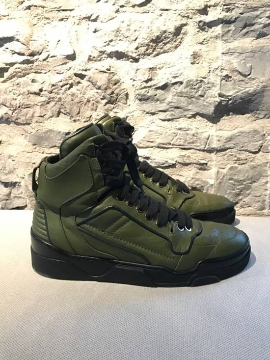 Givenchy Givenchy Green Tyson High-Top Sneakers Size US 11 / EU 44 - 2