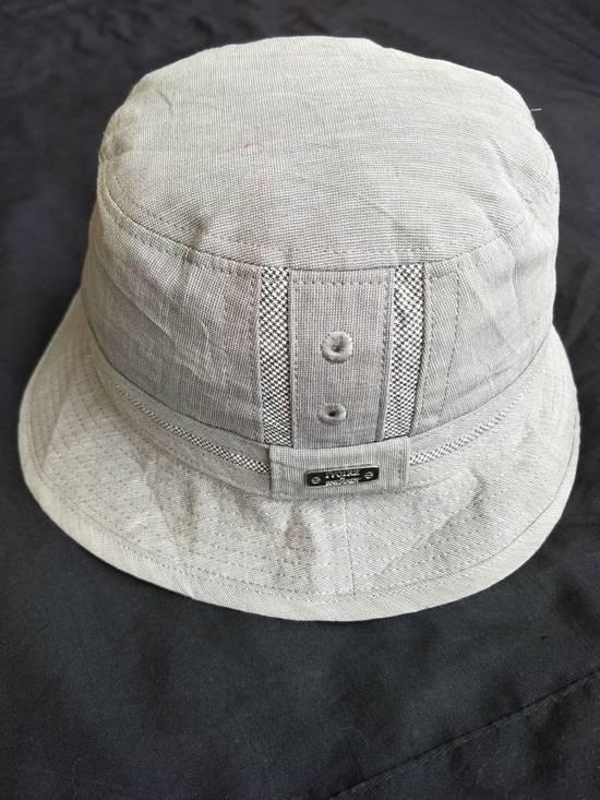 Balmain Athentic Classic Ivoire De Balmain Bucket Hat / Luxury French Designer Monogram Spellout / Good Condition / Small Size Size ONE SIZE