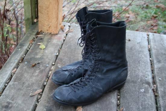 Julius Back Zip Horse Boots Sz3 Size US 11 / EU 44 - 2