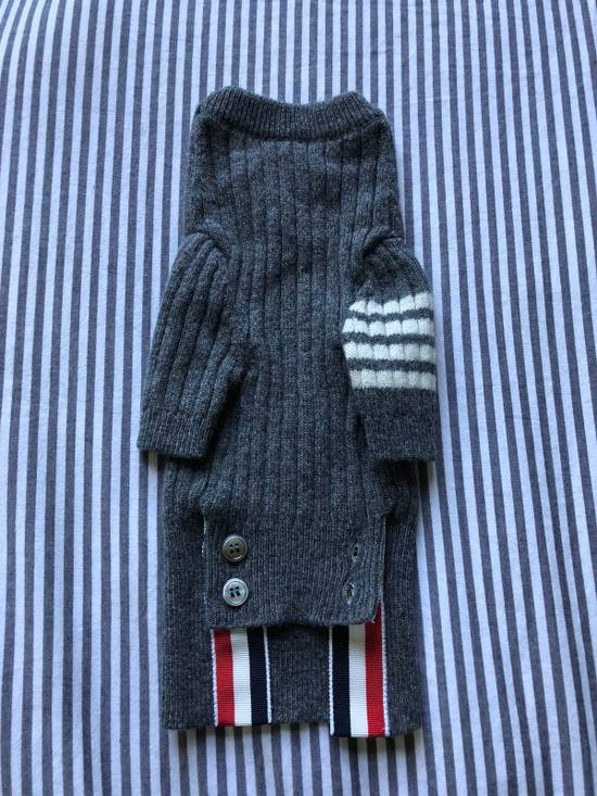 Thom Browne Hector Rib Knit Cashmere Dog Sweater Size ONE SIZE