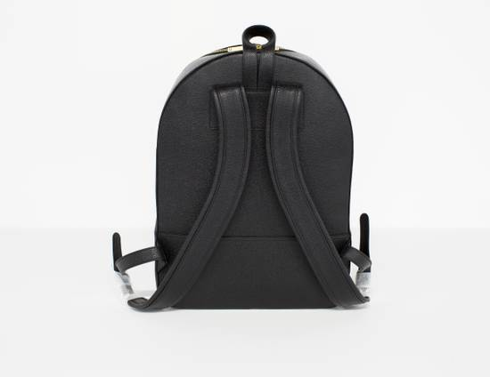 Thom Browne Classic backpack in black pebble grain leather Size ONE SIZE - 2