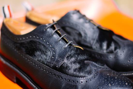 Thom Browne Need Gone Send Offers Calf Hair Rare Brogues Size US 12 / EU 45 - 1