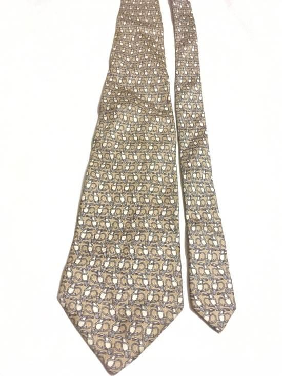Balmain Vintage Balmain Tie Pierre Balmain Silk Necktie Animal Repeat Tie Size ONE SIZE