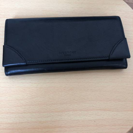 Givenchy Givenchy Black Leather Wallet Size ONE SIZE
