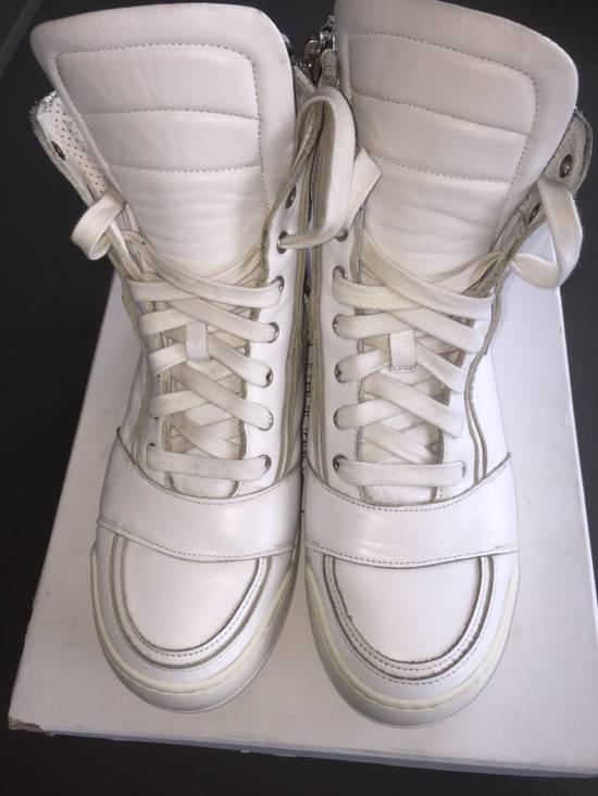 Balmain White Sneakers Size US 8 / EU 41