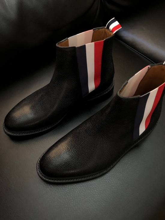 Thom Browne Pebbles Leather Chelsea Boot Size US 6 / EU 39 - 3