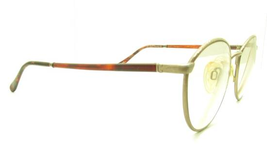 Givenchy Givenchy 90s NOT GOLD Tortoise Gunmetal Round Vintage Frames Eyeglasses Sunglasses Size ONE SIZE - 1