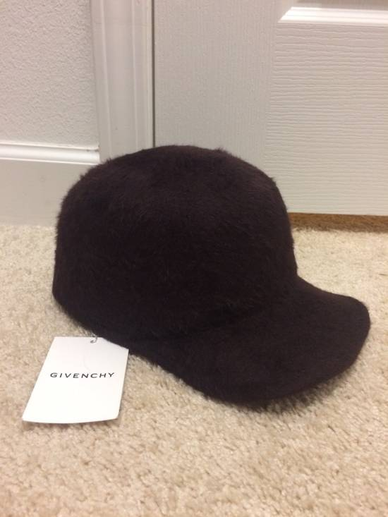 Givenchy Rottweiler Rabbit Fur Runway Hat Size ONE SIZE