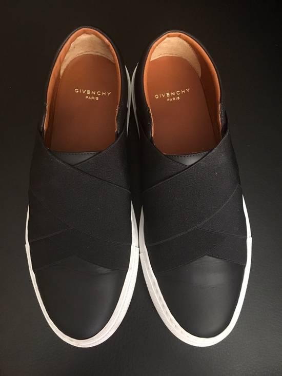 Givenchy Cross Strap Leather Slip-on Sneaker Size US 6 / EU 39