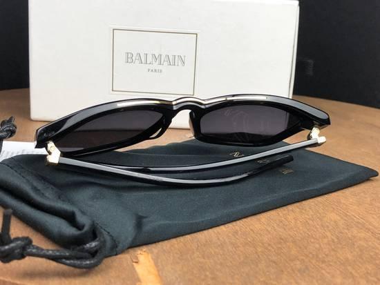 Balmain Balmain Black Gold Sunglasses BL 7008 Size ONE SIZE - 7