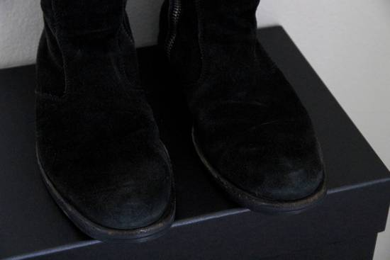 Dior RARE AW04 Dior Homme 'VOTC' Hedi Slimane Black Suede Leather Boots 42 / 9 Size US 9 / EU 42 - 2