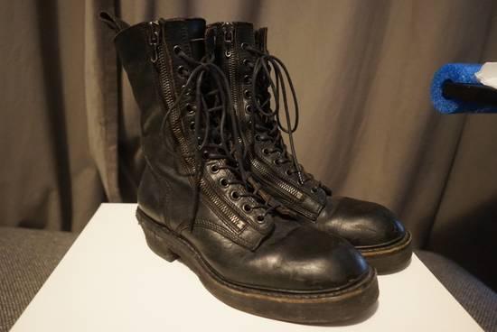 Julius Julius SS11 Double Zip Combat Boots Size US 10.5 / EU 43-44