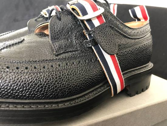 Thom Browne Thom Browne black grained-leather Longwing brogues size 9US Size US 9 / EU 42 - 6