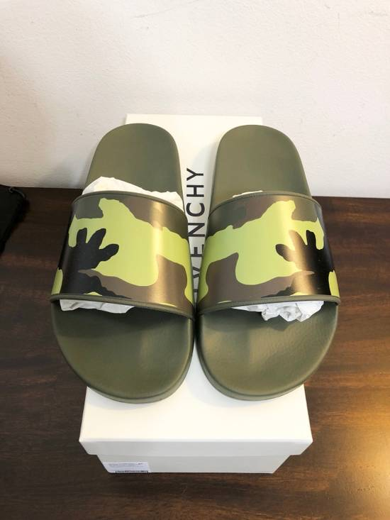 Givenchy New Givenchy Camo Rubber Slides Size US 9 / EU 42