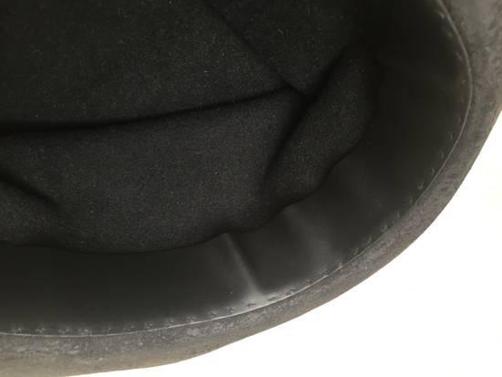 Horisaki Black rabbit fur hat Size ONE SIZE - 6