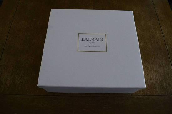 Balmain Balmain Authentic $1150 Leather White High Top Sneakers Size 11 Brand New Size US 11 / EU 44 - 6
