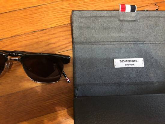 Thom Browne Sunglasses tb006c-t 50/19 145 New Black Silver $800 Size ONE SIZE - 5