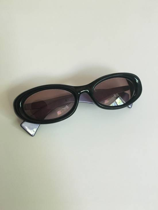 Givenchy Transparent Midnight Purple Retro Givenchy Sunglasses Size ONE SIZE