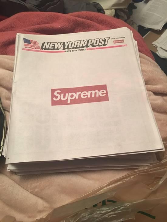Supreme Supreme Newspaper Size ONE SIZE