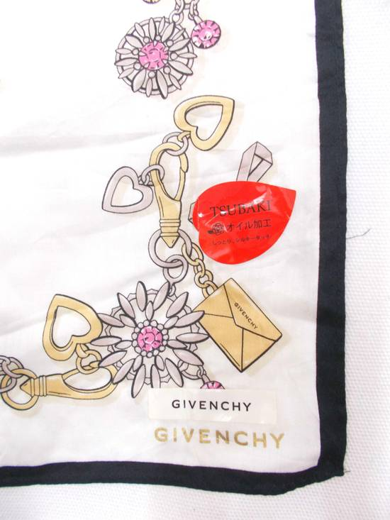 Givenchy Final Drop..!!! Givenchy Paris Tsubaki Japan Envelope Design Pocket Square Scarves/ Scarf/ Bandana/ Handky/ Handkerchiefs Size ONE SIZE - 1