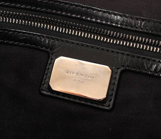 Givenchy Original Givenchy Paris Black Men Half Leather Shoulder Bag Size ONE SIZE - 7