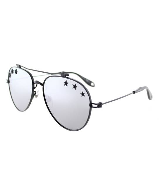 Givenchy NEW Givenchy GV7057/S 7057 Star Aviator Silver Mirrored Sunglasses Size ONE SIZE - 2