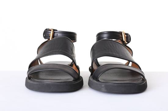 Givenchy GIVENCHY TISCI black leather jewel outsole ankle dual strap sandal EU41 US11 UK8 Size US 8 / EU 41 - 3